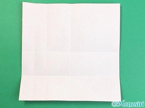 折り紙でアルファベットのVの折り方手順8