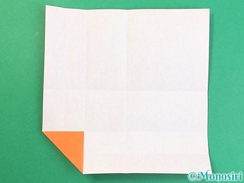 折り紙でアルファベットのVの折り方手順12