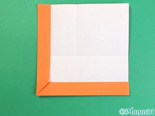 折り紙でアルファベットのVの折り方手順14