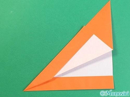 折り紙でアルファベットのVの折り方手順18