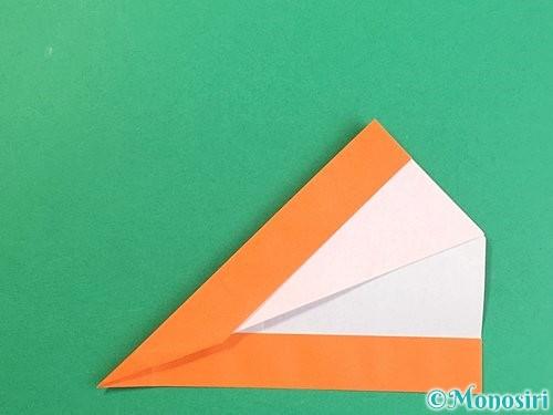 折り紙でアルファベットのVの折り方手順20