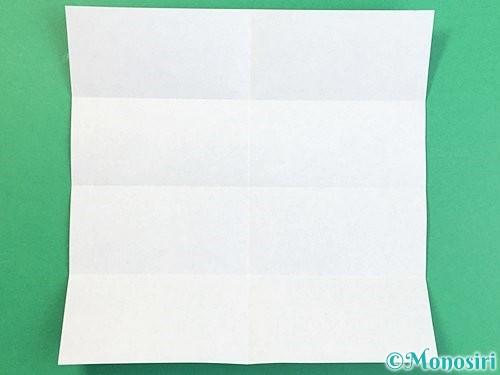 折り紙でアルファベットのXの折り方手順4