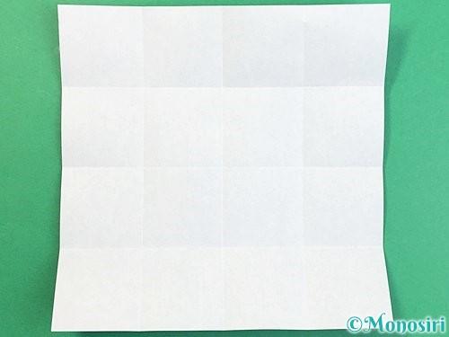 折り紙でアルファベットのXの折り方手順6