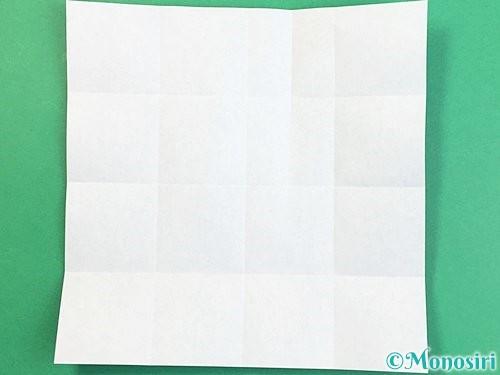 折り紙でアルファベットのXの折り方手順9