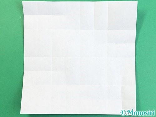 折り紙でアルファベットのXの折り方手順15