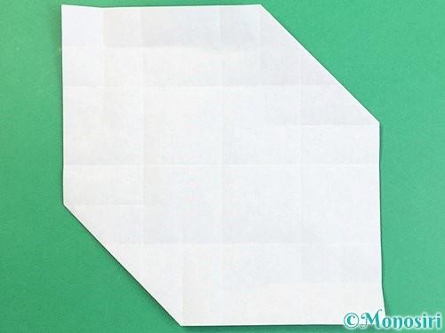 折り紙でアルファベットのXの折り方手順17