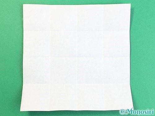 折り紙でアルファベットのZの折り方手順6
