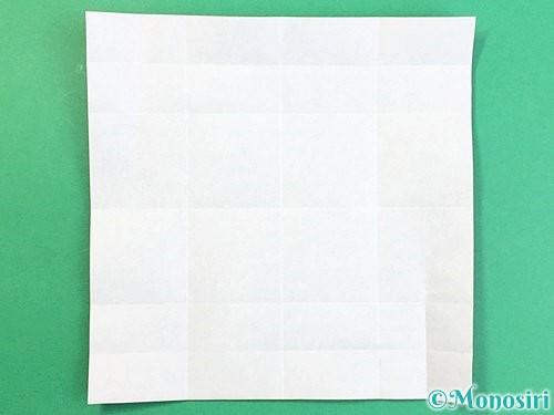 折り紙でアルファベットのZの折り方手順11