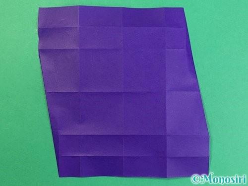 折り紙でアルファベットのZの折り方手順14