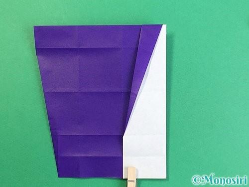 折り紙でアルファベットのZの折り方手順18