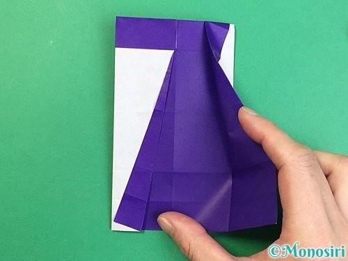 折り紙でアルファベットのZの折り方手順22