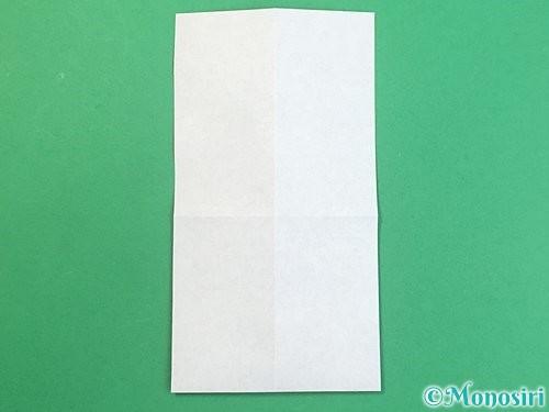 折り紙で手袋の折り方手順8