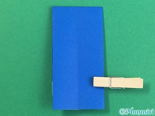折り紙で手袋の折り方手順12