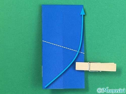 折り紙で手袋の折り方手順13