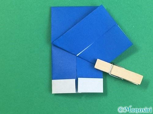 折り紙で手袋の折り方手順14