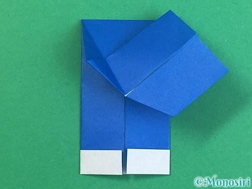 折り紙で手袋の折り方手順16