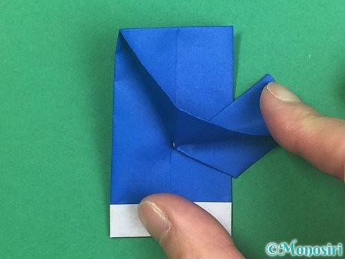 折り紙で手袋の折り方手順19