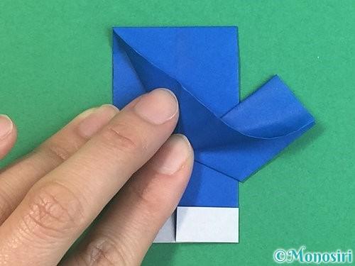 折り紙で手袋の折り方手順20