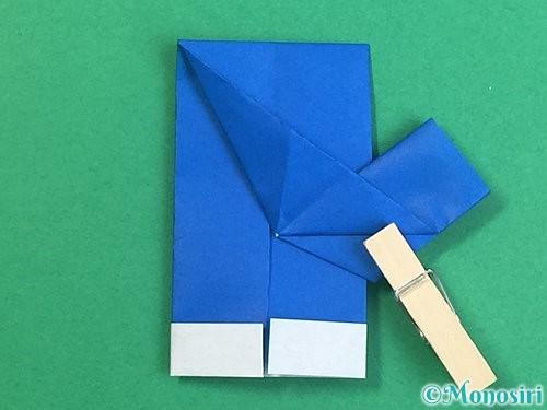折り紙で手袋の折り方手順21