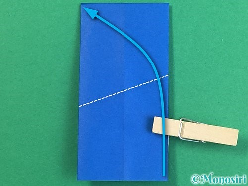 折り紙で手袋の折り方手順25