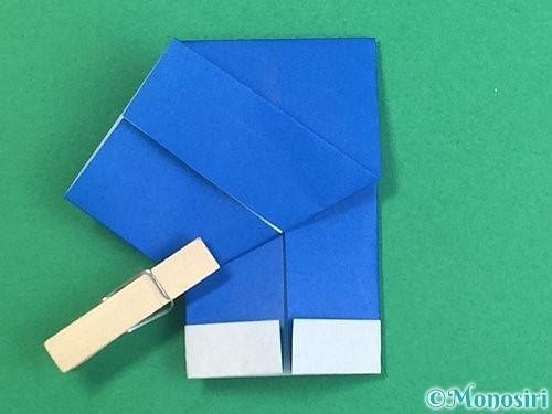 折り紙で手袋の折り方手順26