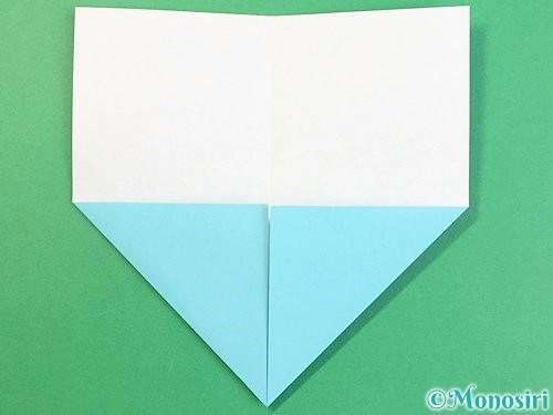 折り紙で富士山の折り方手順4