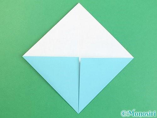 折り紙で富士山の折り方手順6