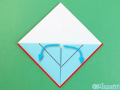 折り紙で富士山の折り方手順7