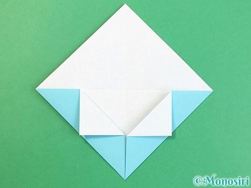 折り紙で富士山の折り方手順8