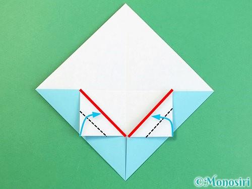 折り紙で富士山の折り方手順9