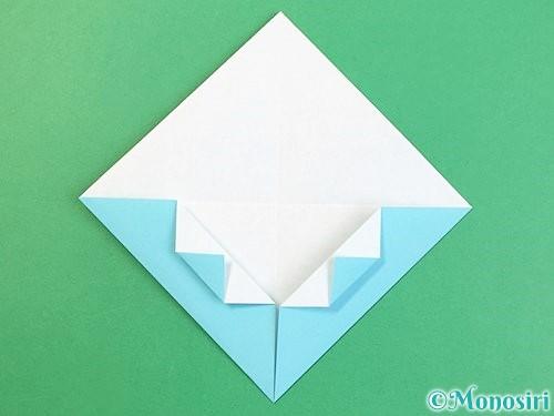 折り紙で富士山の折り方手順10