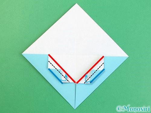折り紙で富士山の折り方手順11