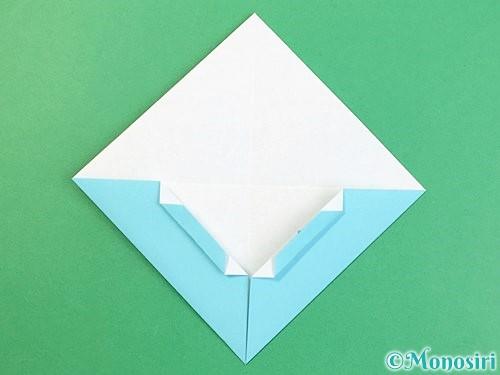 折り紙で富士山の折り方手順12