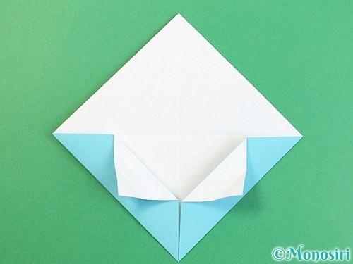 折り紙で富士山の折り方手順13