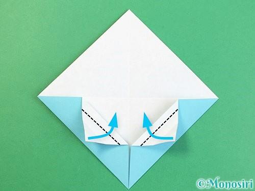 折り紙で富士山の折り方手順14