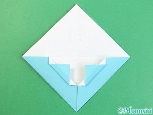 折り紙で富士山の折り方手順15