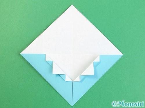 折り紙で富士山の折り方手順17