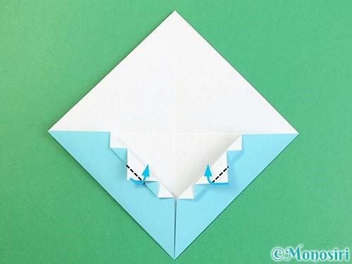 折り紙で富士山の折り方手順18