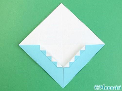 折り紙で富士山の折り方手順19