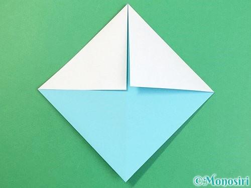 折り紙で富士山の折り方手順20