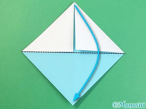 折り紙で富士山の折り方手順21