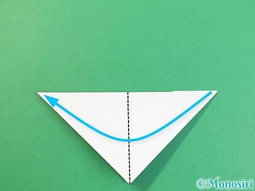 折り紙で富士山の折り方手順23