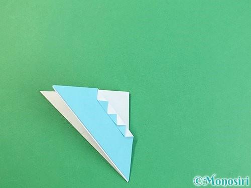 折り紙で富士山の折り方手順24