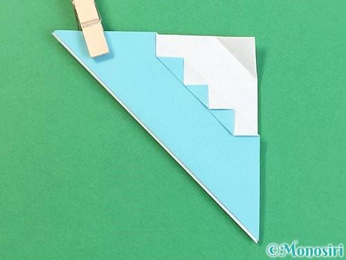折り紙で富士山の折り方手順26
