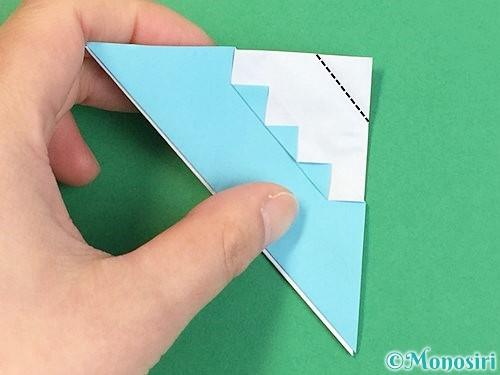 折り紙で富士山の折り方手順27