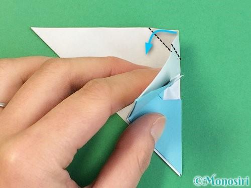 折り紙で富士山の折り方手順28