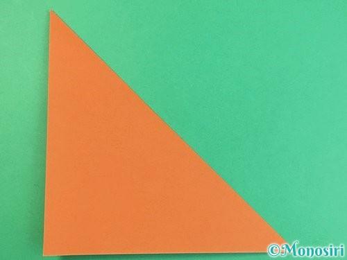 折り紙で猫の折り方手順18