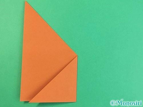 折り紙で猫の折り方手順20