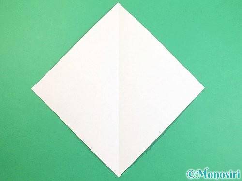 折り紙で立体的な猫の折り方手順2