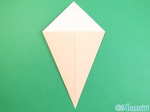 折り紙で立体的な猫の折り方手順4